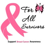 Breast Cancer All Survivors Shirts & Gifts