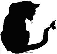 Teresa Tunaley's Silhouette Cat