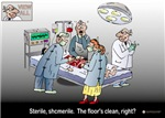 Funny Doctor Physician Med Student Cartoon Art