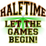 Halftime - Let the Games Begin