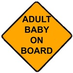 Adult Baby on Board