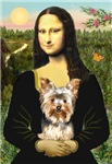 Mona Lisa with Yorkie #17