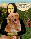 MONA LISA' & HER<br>Golden Retriever Therapy Dog