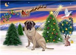 SANTA'S TAKE OFF (1)<br>With a Bull Mastiff (#1)