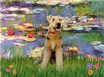 LILIES WITH AIREDALE #12