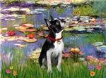 LILIES<br>& Boston Terrier