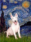 STARRY NIGHT<br>& White Bull Terrier