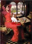 LADY OF SHALOTTE<br>& Cavalier King Charles