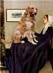 WHISTLER'S MOTHER<br>& Golden Retriever