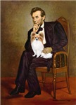 ABRAHAM LINCOLN<br>& Fawn Papillon