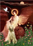 SEATED ANGEL<br> & Italian Spinone