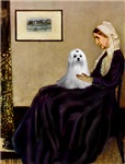 WHISTLER'S MOTHER<br>& Maltese