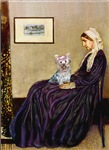 WHISTLER'S MOTHER<br>& Yorkshire Terrier