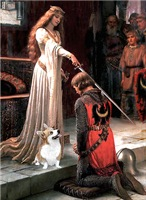THE ACCOLADE<br>& Pembroke Welsh Corgi