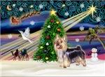 CHRISTMAS MAGIC<br>& Silky Terrier#10