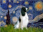 STARRY NIGHT<br>& English Springer Spaniel (BW)