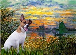 SUNSET<br>& Jack Russell Terrier