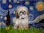 STARRY NIGHT<br>& Shih Tzu