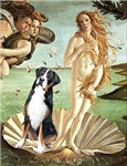 BIRTH OF VENUS<br>Greater Swiss Mountain Dog