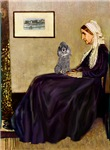 WHISTLER'S MOTHER<br>& Silver Poodle (Toy/Min)