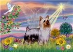 CLOUD ANGEL<br>& Silky Terrier#1