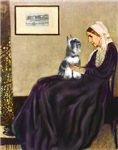 WHISTLER'S MOTHER<br>Min Schnauzer (cropped)