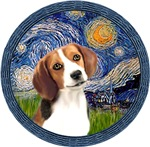 STARRY NIGHT <br>& Beagle