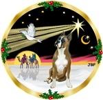 CHRISTMAS DOVE<br>& Boxer (#1)