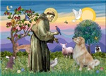SAINT FRANCIS<br> & Golden Retriever #2