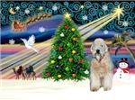 CHRISTMAS MAGIC<br> & Wheaten Terrier #5
