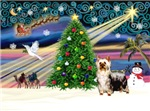 CHRISTMAS MAGIC<br>& Silky Terrier #5