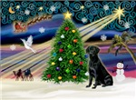 CHRISTMAS MAGIC<br>& Black Labrador