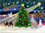 CHRISTMAS MAGIC<br>& Italian Gryhound