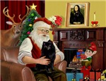 SANTA AT HOME<br>& Schipperke