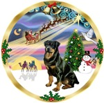 CHRISTMAS MAGIC<br>& Rottweiler      