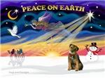 CHRISTMAS SUNRISE<br>& Border Terrier