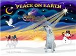 CHRISTMAS SUNRISE<br>& Irish Wolfhound