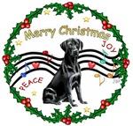 CHRISTMAS MUSIC #2<br>& Labrador Retriever