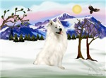 SNOW COUNTRY<br>& Samoyed