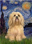 STARRY NIGHT<br>&Lhaso Apso #9