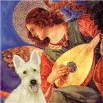 MANDOLIN ANGEL<br>& Scottish Terrier