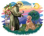 St. Francis #2 &<br>Golden Retriever (B4)