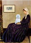Whistler's Mother<br>With a Maltese (B)