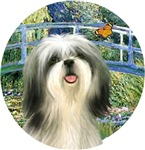 Shih Tzu #3<br>in Lily Pond Bridge