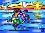 Sea Turtle Design #8