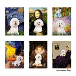 Famous Art Bichon Frise<br>With a clear background
