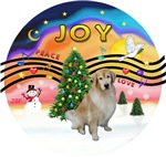 CHRISTMAS MUSIC #2<br>Golden Retriever #10