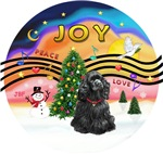 CHRISTMAS MUSIC #2<br>Black Cocker Spaniel