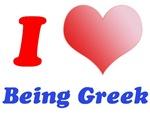 I Love Being Greek