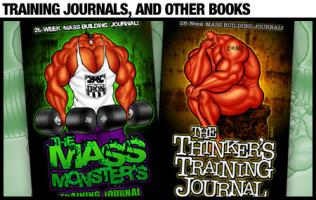 TRAINING JOURNALS & OTHER BOOKS